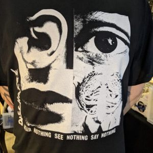 DISCHARGE – Hear Nothing… T-shirt T-shirts