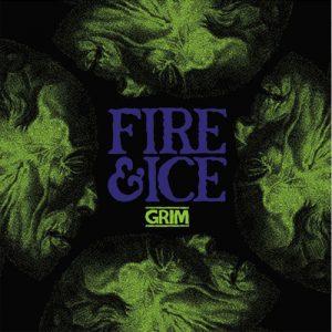 "FIRE & ICE – Grim 7"" 2nd Hand Vinyl EP"