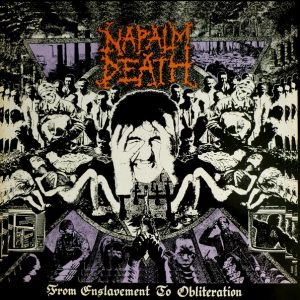 "NAPALM DEATH – From Enslavement to Obliteration LP 12"" Vinyl Records"