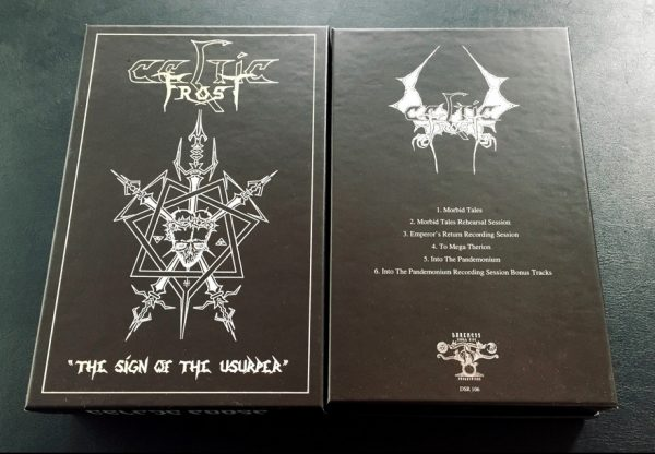 Sign of the Usurper Celtic Frost MC box