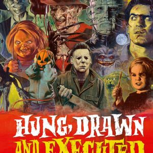 GRAHAM HUMPHREYS, DACRE STOKER & VICTORIA PRICE – Hung, Drawn and Executed: The Horror Art of Graham Humphreys Books