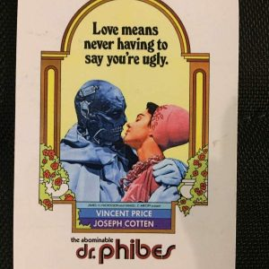 The Abominable Dr. Phibes Magnet Magnets