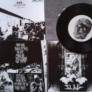 "SLAG – Self Titled 7″ vinyl 7"" Vinyl Records"