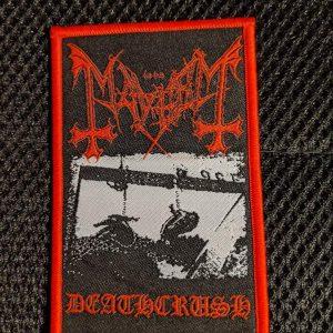 MAYHEM – Deathcrush Patch Patches