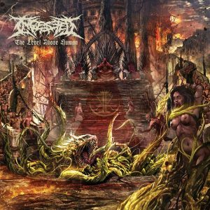 INGESTED – The Level Above Human CD CDs