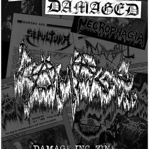 Ultra Damaged: Damage Inc. Zine Anthology 1985-2017 Book Books