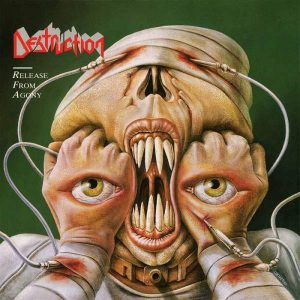 """DESTRUCTION – Release From Agony LP 12"""" Vinyl Records"""