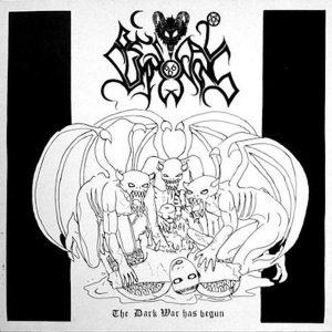 BESTIAL SUMMONING – The Dark War Has Begun CD CDs