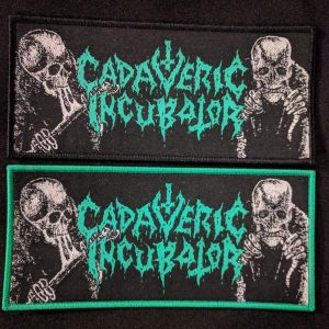 CADAVERIC INCUBATOR – Patch (Black border) Label Releases