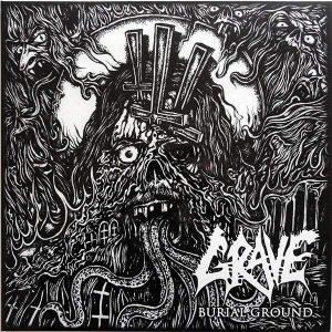 GRAVE – Burial Ground Gatefold LP (2nd hand) 2nd Hand Vinyl LP