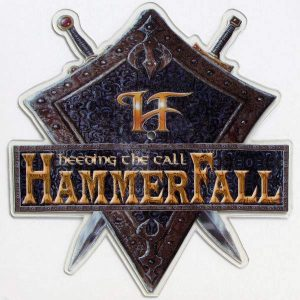 HAMMERFALL – Heeding The Call Shaped 12″ Picture Disc (2nd Hand) 2nd Hand Vinyl LP