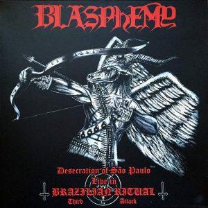 BLASPHEMY – Desecration Of Sao Paulo LP (2nd hand) 2nd Hand Vinyl LP