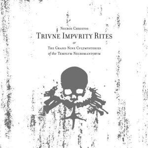 """NECROS CHRISTOS – Triune Impurity Rites Gatefold Double 12″ vinyl 12"""" Vinyl Records"""