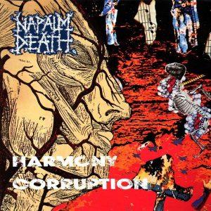 "NAPALM DEATH – Harmony Corruption 12″ vinyl 12"" Vinyl Records"