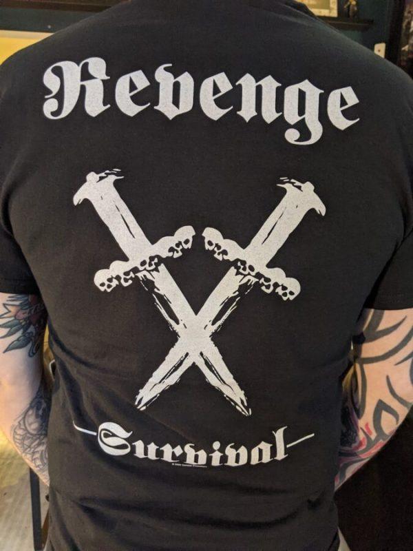 revenge shirt back