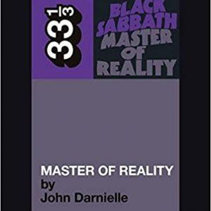 33 1/3: Black Sabbath's Master of Reality (book) Books