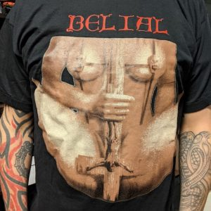 BELIAL – Never Again (red) T-shirt T-shirts