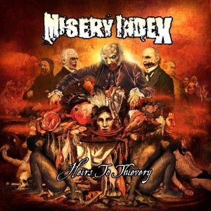 """MISERY INDEX – Heirs To Thievery (10th Anniversary) 12″ vinyl 12"""" Vinyl Records"""