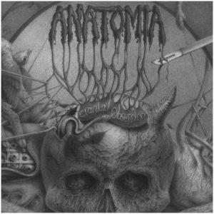 "ANATOMIA – Cranial Obsession 2LP 12"" Vinyl Records"