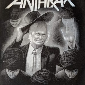 ANTHRAX – Among the Living (backpatch) Back Patches