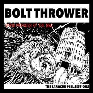 "BOLT THROWER – Peel Sessions LP 12"" Vinyl Records"