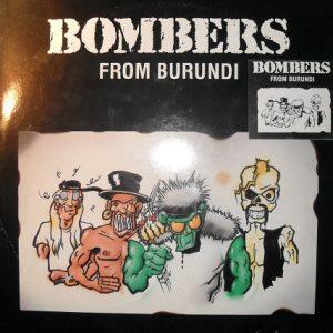 BOMBERS FROM BURUNDI – s/t LP (2nd Hand) 2nd Hand Vinyl LP