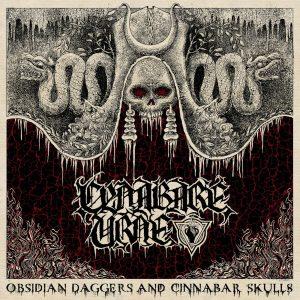 "CYNABARE URNE – Obsidian Daggers and Cinnabar Skulls LP 12"" Vinyl Records"