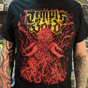 TEMPLE OF VOID – Dread Consumes T-shirt Label Releases