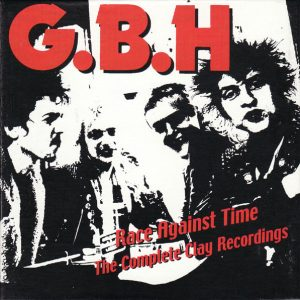 """GBH – Race Against Time: The Complete Clay Recordings Vol 2. 2LP 12"""" Vinyl Records"""