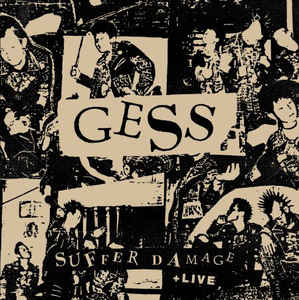 "GESS – Suffer Damage LP+CD 12"" Vinyl Records"
