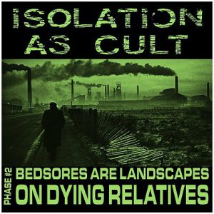 "ISOLATION AS CULT – Bedsores are Landscapes 7″ flexi 7"" Vinyl Records"
