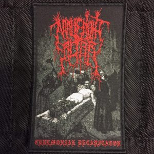 MALIGNANT ALTAR – Ceremonial Decapitator patch Label Releases