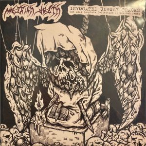 "MESSIAH DEATH – Invocated Unholy Tracks 2XLP 12"" Vinyl Records"