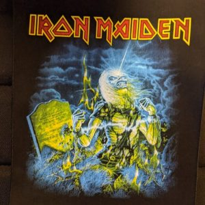 IRON MAIDEN – Live After Death (backpatch) Back Patches