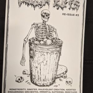 Tough Riffs #3 Zine Zines