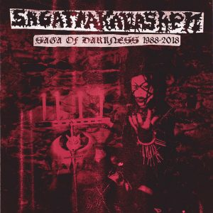 "SAGATRAKAVASHEN – Saga of Darkness 1988-2018 2xLP 12"" Vinyl Records"