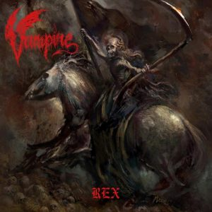 "VAMPIRE – Rex LP 12"" Vinyl Records"