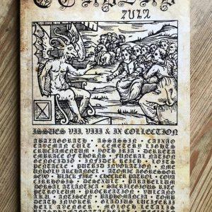 Cthulhu Zine: Issues 7, 8 & 9 Anthology Zine Zines