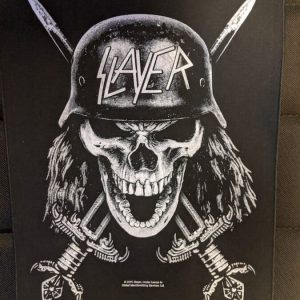 SLAYER – Death's Head (backpatch) Back Patches