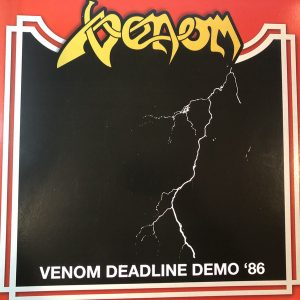 VENOM – Deadline Demo LP (2nd Hand) 2nd Hand Vinyl LP