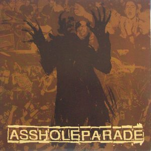 "ASSHOLEPARADE – Say Goodbye 7"" 7"" Vinyl Records"