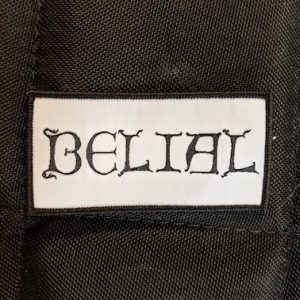 BELIAL – Logo Patch Patches