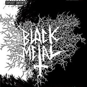 The Black Metal Coloring Book Books