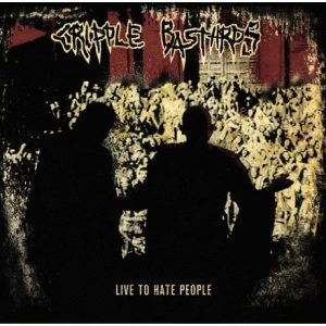 CRIPPLE BASTARDS – Live To Hate People CD CDs