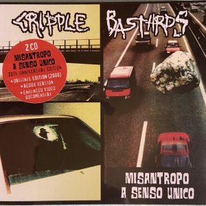 CRIPPLE BASTARDS ‎– Misantropo A Senso Unico 2CD CDs