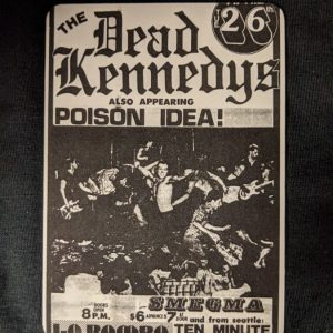 DEAD KENNEDYS / POISON IDEA – Flyer Magnet Magnets
