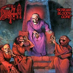 "DEATH – Scream Bloody Gore LP 12"" Vinyl Records"