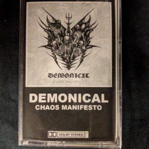 DEMONICAL – Chaos Manifesto MC Tapes