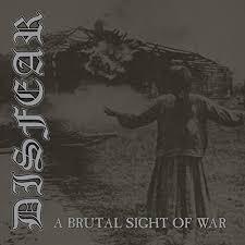 "DISFEAR – A Brutal Sight of War  LP (silver) 12"" Vinyl Records"