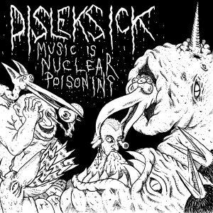 "DISLEKSICK / SEDEM MINÚT STRACHU – split 7"" 7"" Vinyl Records"